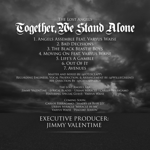 Together, We Stand ALONE : Tracklist + Album Credits
